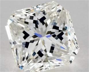 GIA CERT 3.04 CTW RADIANT DIAMOND HVVS2