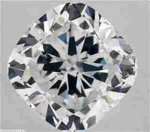 GIA CERT 1.10 CTW CUSHION DIAMOND FSI2