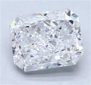 GIA CERT 2.02 CTW RADIANT DIAMOND DSI1