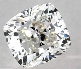 GIA CERT 1.00 CTW CUSHION DIAMOND HSI1