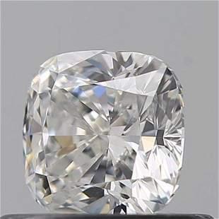 GIA CERT 0.54 CTW CUSHION DIAMOND DVVS1