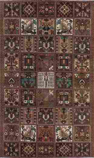 Vintage Bakhtiari Persian Area Rug 6x9