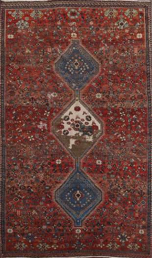 Vintage Shiraz Persian Area Rug 6x10