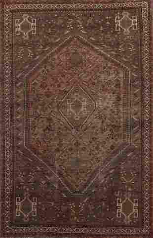Vintage Shiraz Persian Area Rug 7x10