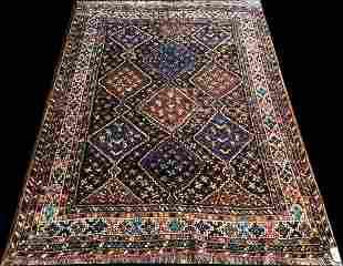 A Srunning Vintage Tribal SW Persian Afshar Rug