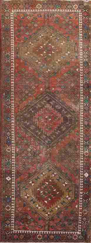 Vintage Ardebil Persian Runner Rug 4x11