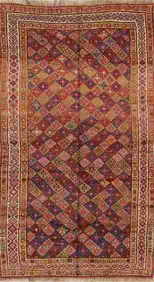 Geometric 5x8 Tribal Nomad Moroccan Oriental Area Rug