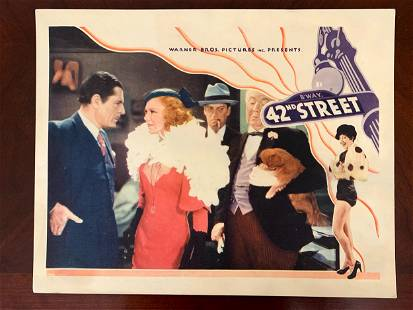 42nd Street - Ginger Rogers (1933) US Lobby Card Movie