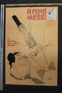 A Fine Mess - Laurel and Hardy (1986) US 1 SH Movie