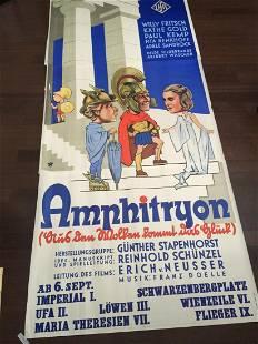 """Amphitryon - Art by Reinhart Wettach (1935) 49"""" x 111"""""""