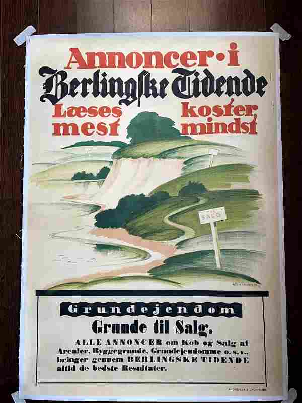 Annoncer Grande Til Salg - Art by Thor Bogelund Jensen
