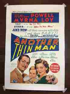 Another Thin Man (1939) Australian One Sheet Movie