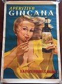 Aperitivo Gincana (1940) Italian Alcohol Advertising