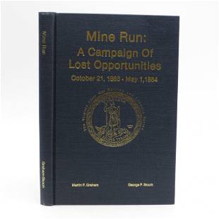 Mine Run: A Campaign of Lost Opportunities, October 21,