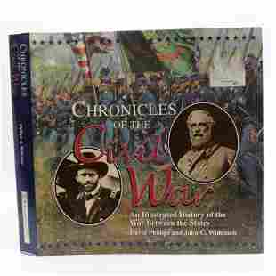 Chronicles of the Civil War: An Illustrated History of