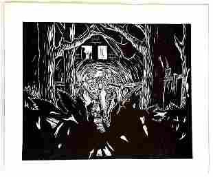 Peter Wachtler: Untitled(Nightly Scene Forest) 2015