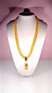 Buddhist prayer- Necklace
