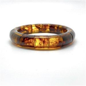 Phenomenal cut Amber bangle bracalet