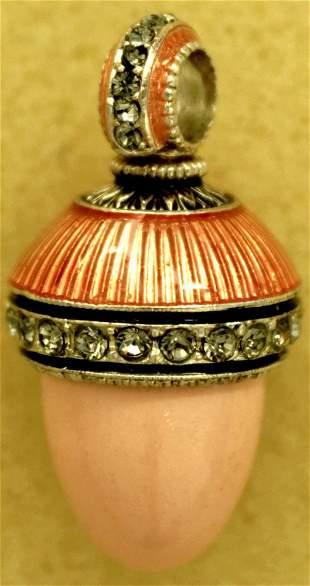 Faberge style egg. Pendant
