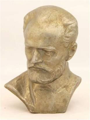 Bust, Pyotr Ilyich Tchaikovsky