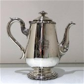 Early 19th Century Antique William IV Sterling Silver