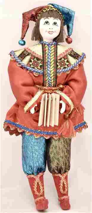 Russian doll Petrushka