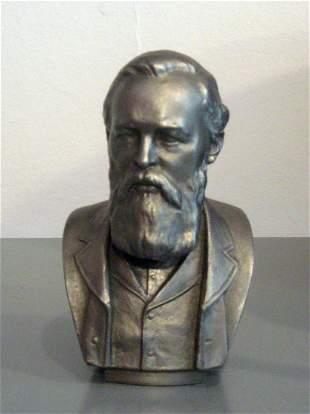 Bust of Fyodor Dostoyevsky, Metal