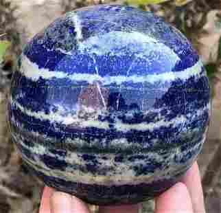 990 Grams Roayal Blue Lapis Lazuli with Pyrite Combine