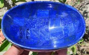 380 Grams Beautiful Lapis Lazuli Hand Made Bowl
