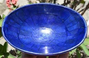 370 Grams Beautiful Lapis Lazuli Hand Made Bowl