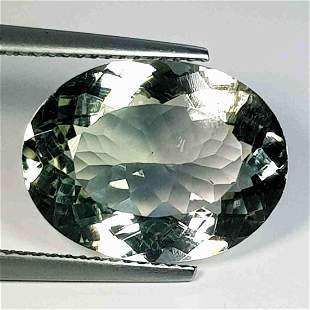 Natural Green Amethyst Oval Cut 8.53 ct