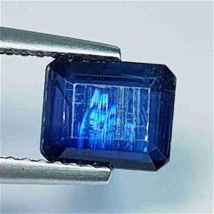1.75 ct Natural Kyanite Octagon Cut