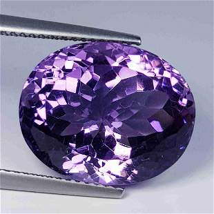 Natural Amethyst Oval Cut 8.74 ct