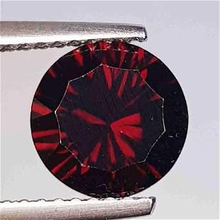 Natural Rhodolite Garnet Round Cut 2.26 ct