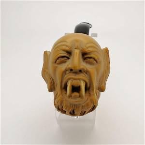 Dracula Vampire,Hand carved Meerschaum Pipe