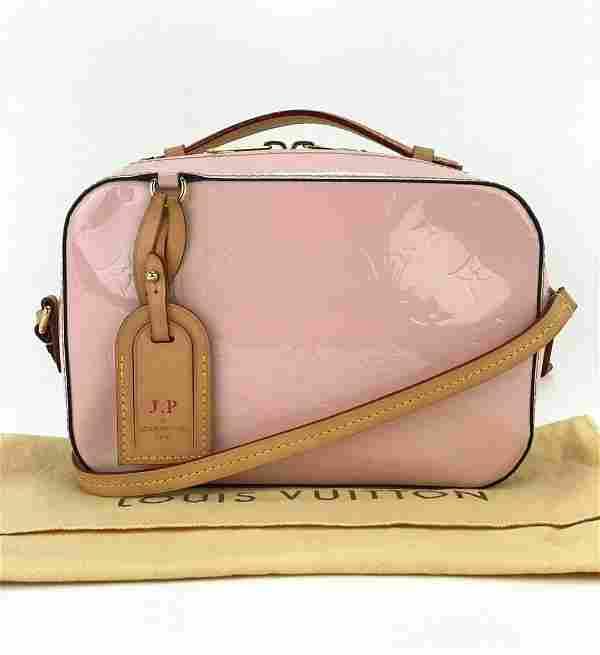 Louis Vuitton Santa Monica Pink Vernis Patent Leather