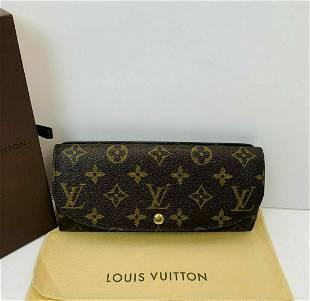 Louis Vuitton Monogram Portefeiulle Louise Long Wallet