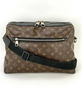 LOUIS VUITTON Macassar Torres Messenger Shoulder Bag