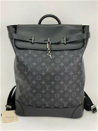 Louis Vuitton Monogram Eclipse Steamer Backpack Day