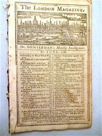 1766 Magazine Repeal of the Stamp Act