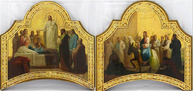 Dormition of the Virgin Mary and Entry into Jerusalem