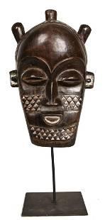 Kete Mask – Wood – Kuba – DR Congo
