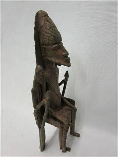 Dogon bronze figure - Mali