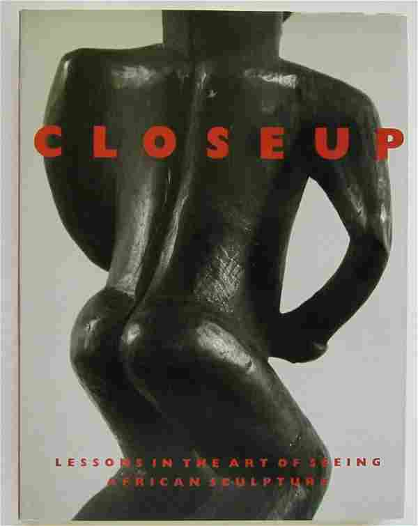 AFRICAN SCULPTURE LESSONS in ART of SEEING CLOSE UP