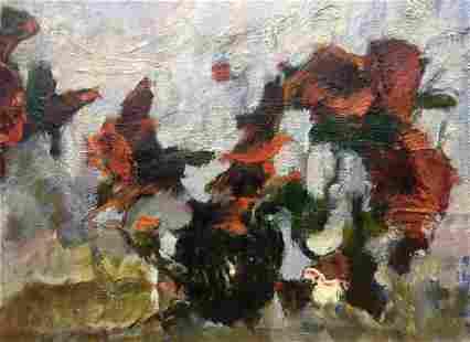 Abstract oil painting Sentiment Zhurakovsky Victor