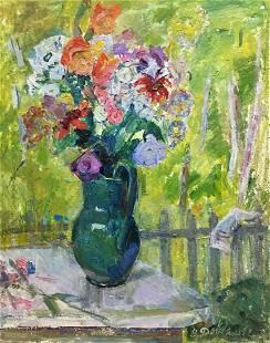 Oil painting Beautiful mood Dovgalevskaya Vera