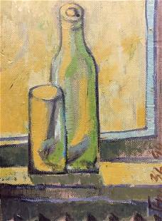 Oil painting Morning in a glass Peshin Gennady