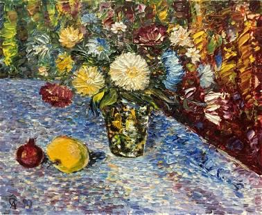 Oil painting Bouquet Andreii Dmitrievich Chegodaev