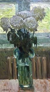 Oil painting Etude Zhezher Anatoly Mikhailovich