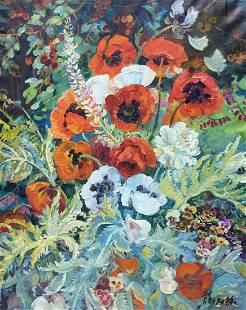 Oil painting May G. Zora